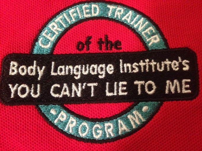 """BLI """"You Can't Lie to Me: Train-the-Trainer"""""""