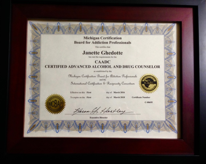 CAADC Certificate