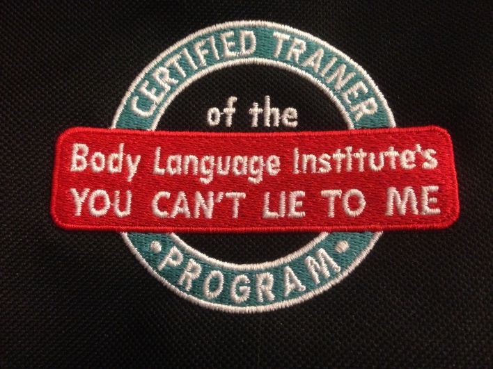 """BLI: """"You Can't Lie to Me: Train-the-Trainer"""""""
