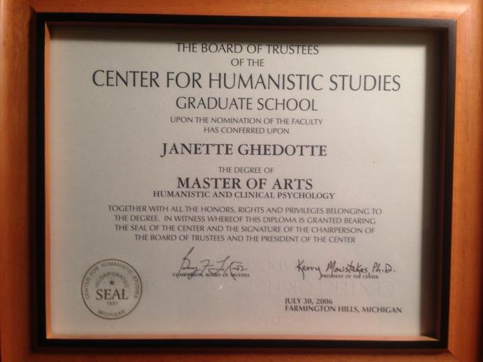 MA LLP Humanistic & Clinical Psychologist