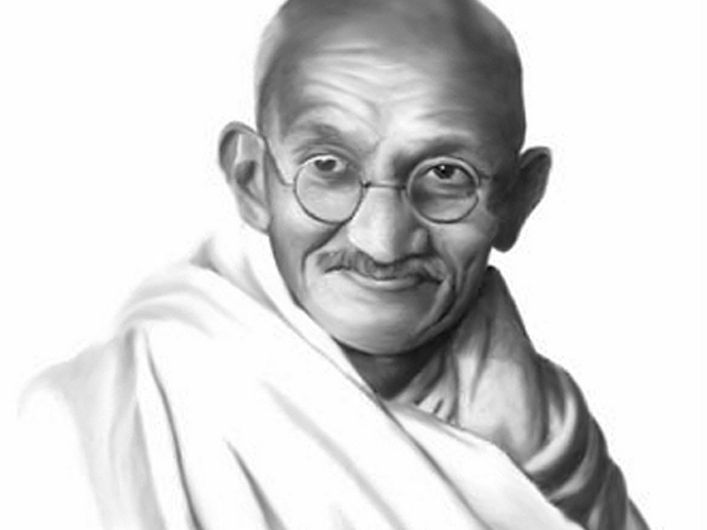 essay on mahatma gandhi in hindi language