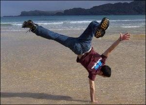 1 arm handstand