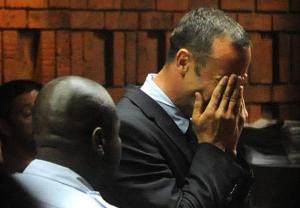 Oscar Pistorius Face Blocking