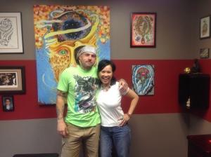 "Getting ""INKED"" by Joey Singleton!"