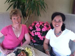 Linda Aldrich & Janette Ghedotte