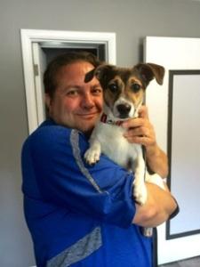 Michael Burkey grown & Beagle